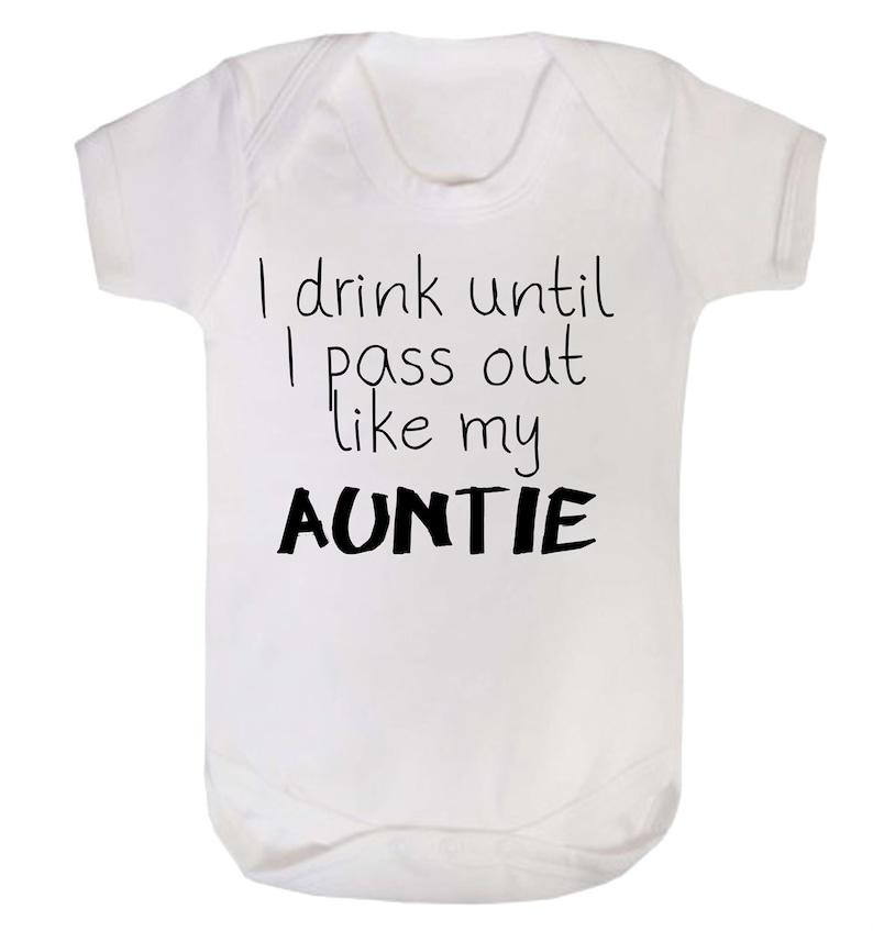 Reality Glitch I Drink Until I Pass Out Like My Auntie Babygrow