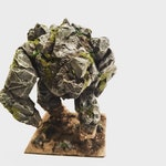 Custom Earth Stone Rock Elemental (Dungeons and Dragons or RPGs)
