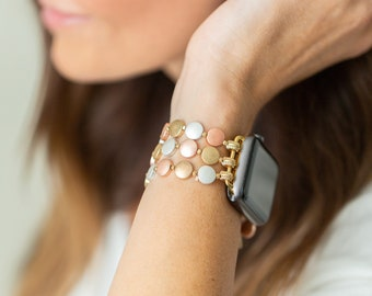 Apple Watch Band Rose Gold Etsy