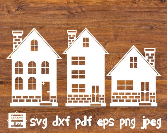 Christmas House Svg Christmas Home Svg Home Svg House Svg Etsy