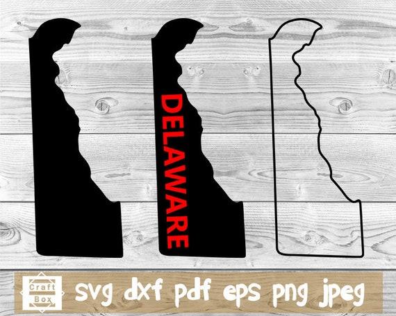 Delaware svg file Delaware state svg Delaware silhouette Delaware vector Delaware clipart DE cut file Delaware cricut DE svg fiile