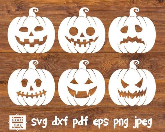 Pumpkin Svg Clipart Halloween Pumpkin Svg Pumpkin Cut File Etsy