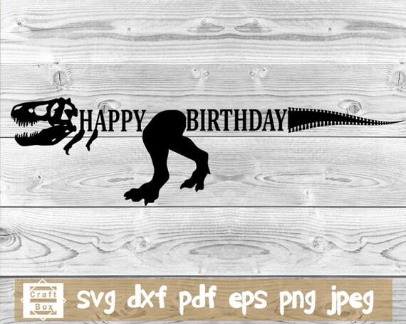Happy Birthday Svg Birthday Svg Lettering Birthday Banner Etsy