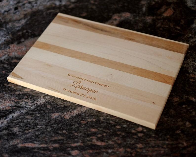 Wedding Gift Christmas Gift Housewarming Gift Custom Cutting Board Anniversary Gift Personalized Cutting Board Engraved Cutting Board