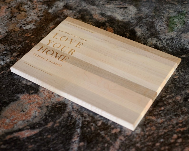Anniversary Gift Wedding Gift Housewarming Gift Custom Cutting Board Engraved Cutting Board Personalized Cutting Board Christmas Gift