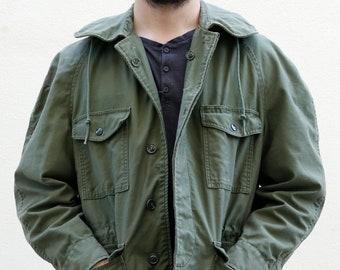 60s Military Jacket Men | OG-107 Olive Green Army Jacket