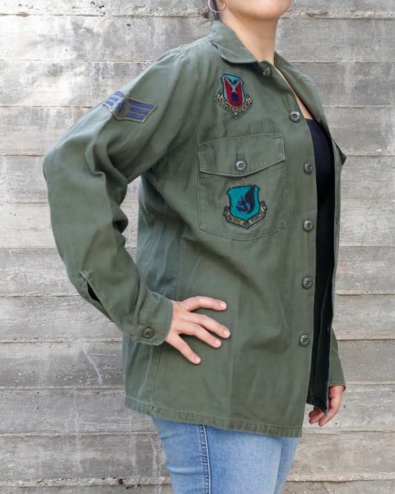 70s Vietnam OG-107 Military Jacket Men OG-107 | Ol