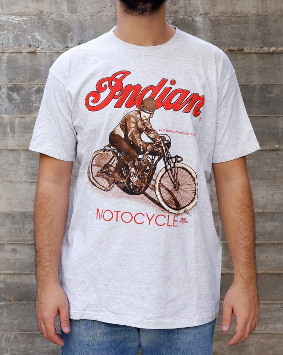 Indian Motorcycle T Shirt Vintage Vintage T Shirt
