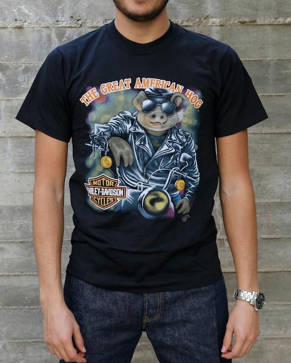 Harley 3D Emblem Shirt Motorcycle Shirt | Vintage
