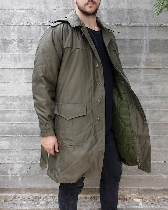 80s Military Trench Coat | Croatian Military Surpl