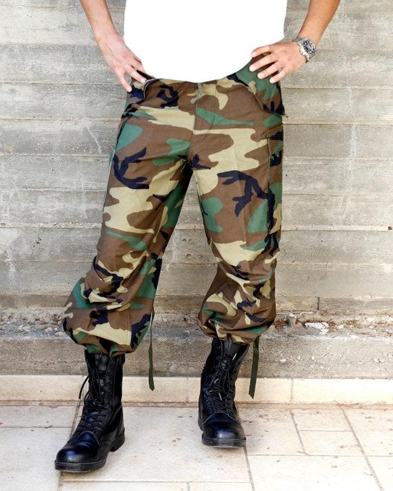 Vintage Cargo Pants Camo Cargo Trousers | Army Sur