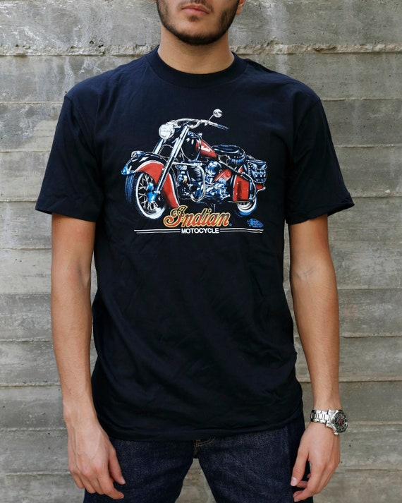 90s Indian Motorcycle T Shirt Vintage | Vintage Mo