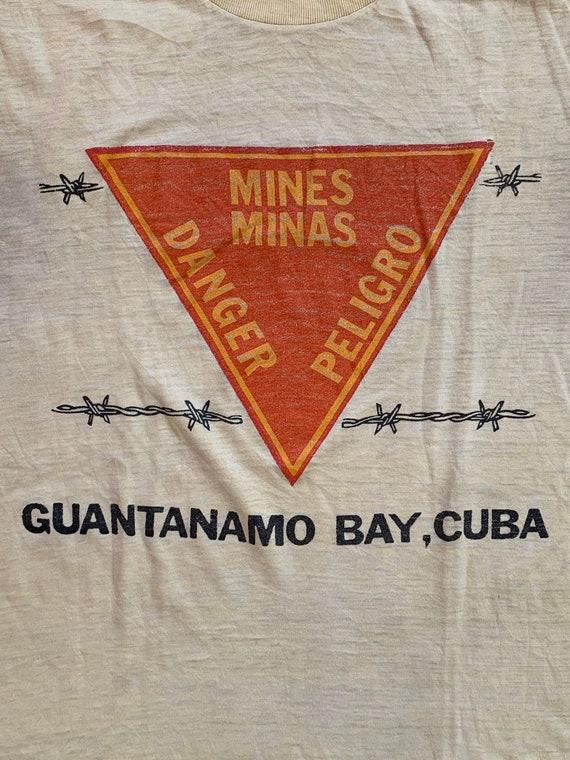 Vintage Military T shirt single stitch