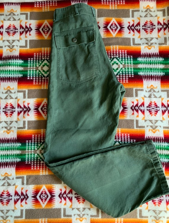 OG 107 Cotton Sateen Utility Pants Vietnam Era