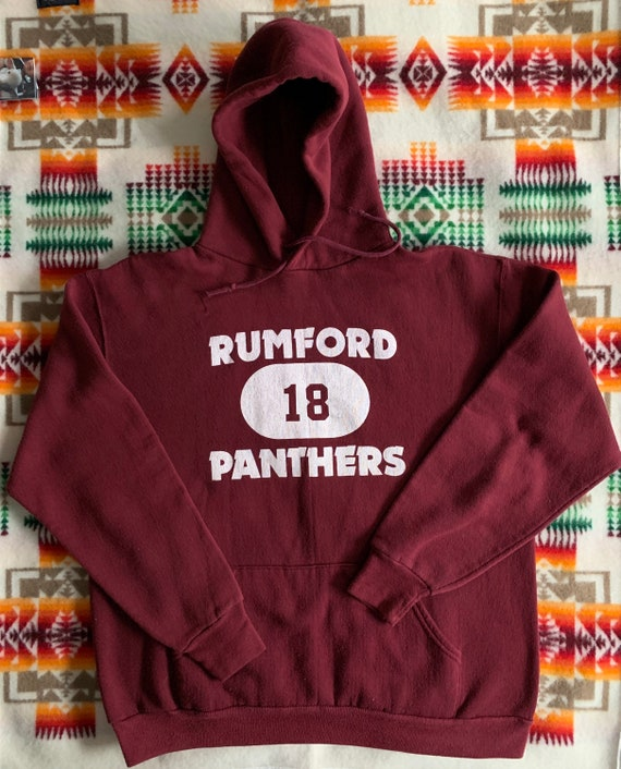 Vintage Russell Athletic Hoodie made in USA Rumfor
