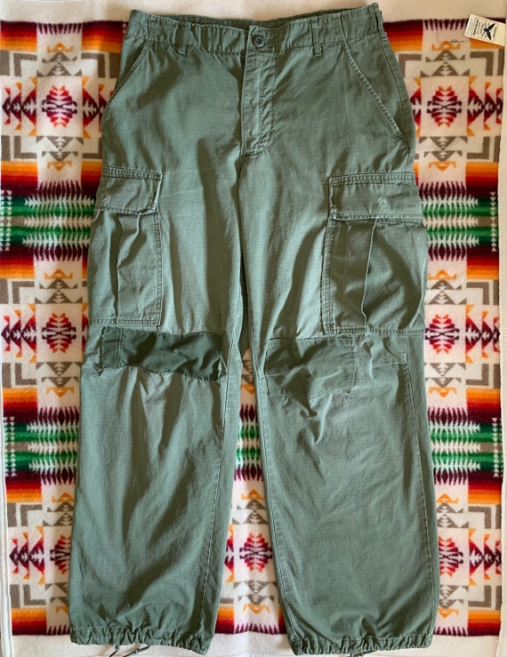 Vietnam Era OG 107 Cotton Rip Stop Cargo Pants 196