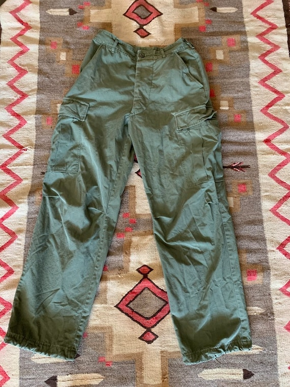 Vietnam Era OG 107 Cotton Rip Stop Cargo Pants