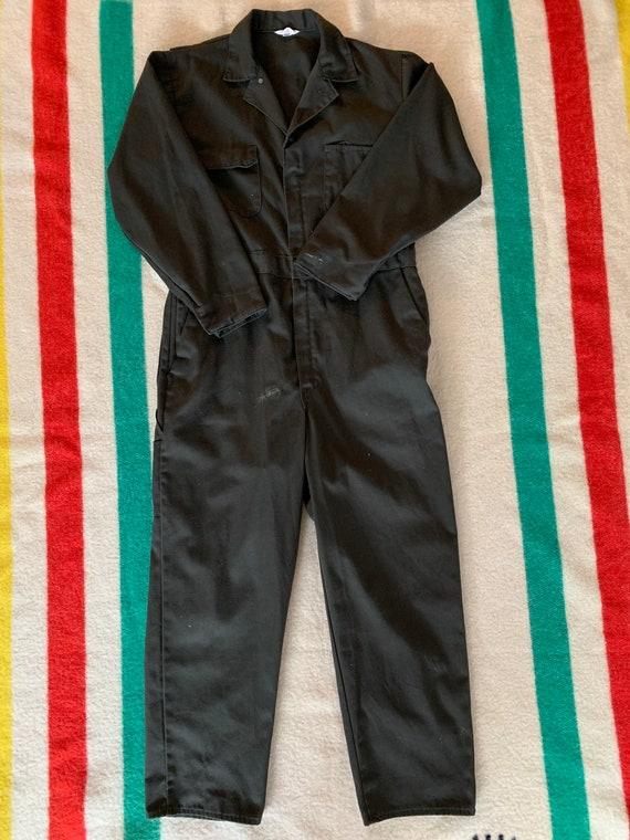 Vintage Montgomery Ward coveralls 44R Talon Zipper