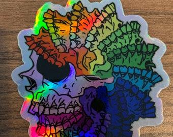 Deadly Pride Holo Sticker