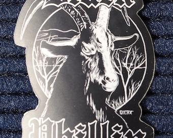 Black Phillip Die Cut Vinyl Sticker