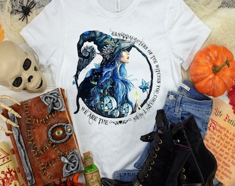 We Are The Granddaughter's Of The Witches You Could Not Burn, Granddaughter Witch, Daughter Witch, Witch Shirt, Ladies Witch shirt, Witches