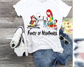 Family of Nightmares, Customizes for Mom, Custom Gifts for Dad, Father's Day Gift. Mothers Day Gift. Personalized for Mom, Personalized Dad,