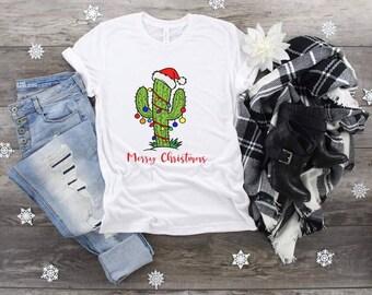 Christmas, Merry Christmas Cactus, Christmas Cactus, Funny Christmas Tee, Cactus Christmas, Hot Christmas shirt, Christmas Tree, Cacti tee