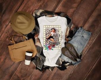 Save A Horse RideA Cowboy..   design t-shirt