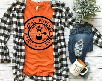 Salem Local Witches Union... shirt Bella Canvas tshirt direct to garment