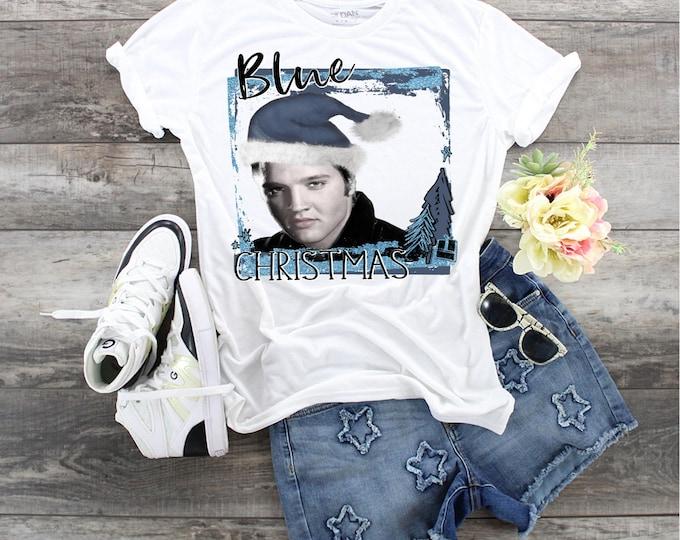 Christmas Blue Christmas design t-shirt