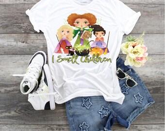 Witches I Smell Children.... design t-shirt