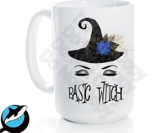 Basic Witch...Ceramic Coffee Mug 15 oz Free shipping