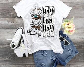 Horses, Hay Girl Hay leopard bandana, leopard hat, Funny Horse shirt, Horse Owner tee, Loves Horses shirt, Hay Girl shirt,  Hay Girl Hay