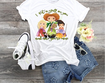 Witches I Put A Spell On You....design t-shirt