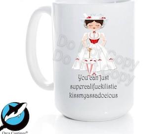 You Can Just...Ceramic Coffee Mug 15 oz Free shipping