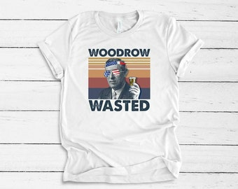 Ready forJuly 4th With Woodrow Wasted..shirt Bella Canvas tshirt