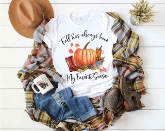 Fall Halloween Fall Has Always Been My Favorite Season... design t-shirt