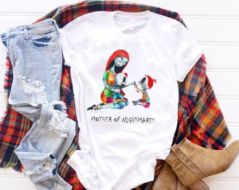 Mother of Nightmares. Custom Gift for Mom, Personalized Mother Day Gift,  Mothers Day Gift, Gift for Mom, Mom of Nightmares, Mom T shirt,