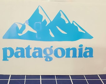 f08fffa1b7cd9 Patagonia Mountain Decal 3 Sizes and 12 Colors to choose from great for  Yetti