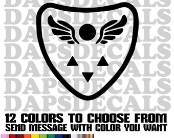 Undertale Decals, Tumbler Decals, Laptop Decal 3 sizes and 12 Colors to choose from.