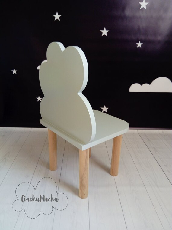 LITTLE CLOUD chair, Kids Furniture, Toddler Gift, Baby Toddler Chair, Baby Furniture, Kids Chair, Baby Decor, Wooden Baby Chair