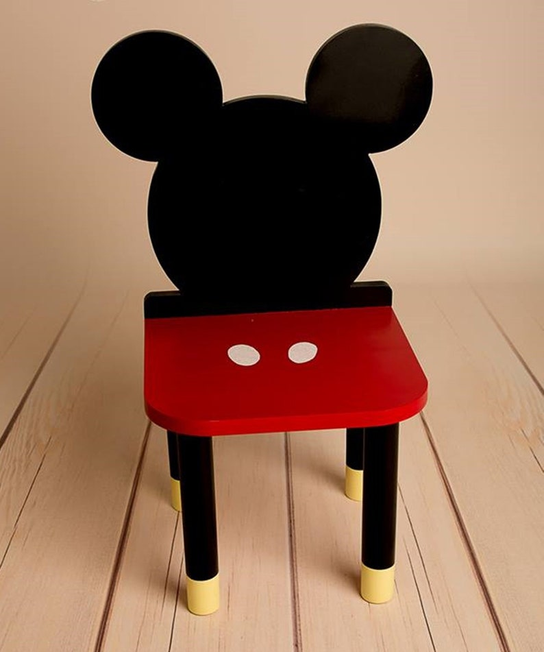 Genial MICKEY MOUSE Chair, Kids Furniture, Toddler Gift, Baby Toddler Chair, Baby  Furniture, Kids Chair, Baby Decor, Wooden Baby Chair