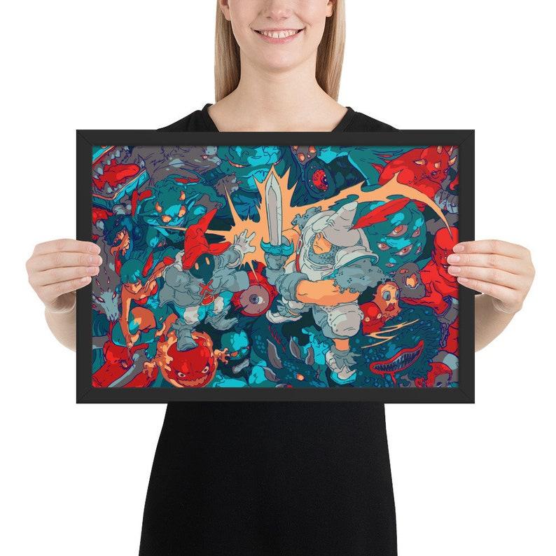 Vivi & Steiner Framed Print image 0