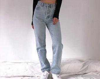 Y2K High Waist Straight Leg Jeans