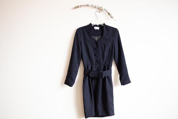 Vintage Black Laura Ashley Dress - image 1