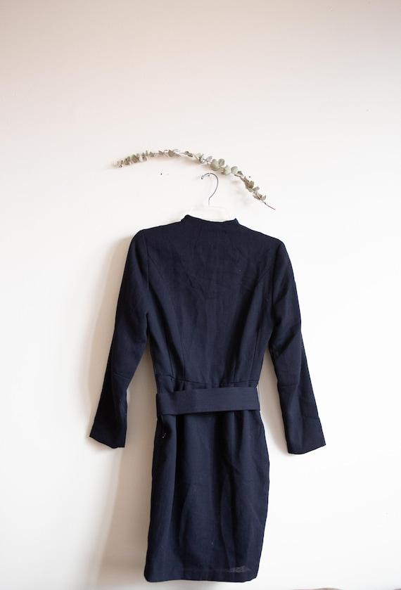 Vintage Black Laura Ashley Dress - image 7
