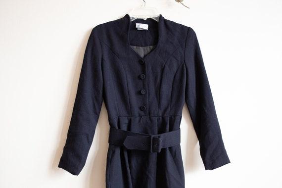 Vintage Black Laura Ashley Dress - image 3