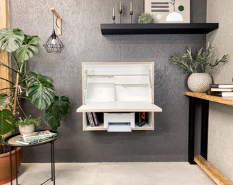 Office Desk Home Office Space Furniture Space Saving Furniture Secretary Desk Floating Desk Plywood Table Wall Desk Study Desk Work Desk