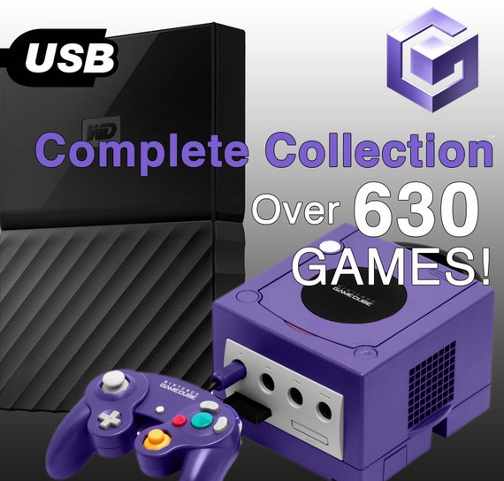 Nintendo GameCube Complete Collection Hard Drive GC WII DOLPHIN Emulator