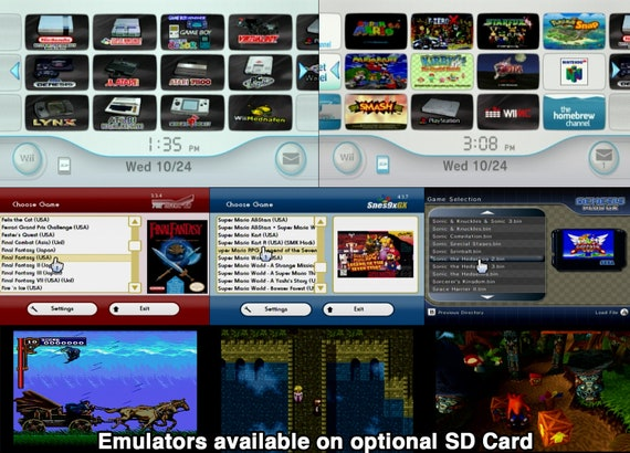 Wii Usb Hard Drive Ready To Play With Wii Gamecube Games Usb Loader Gx Wiiflow Homebrew Channel
